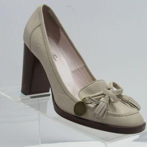 Emilio Pucci Size 6.5 M/EU 37 Gray Pumps C1C C49